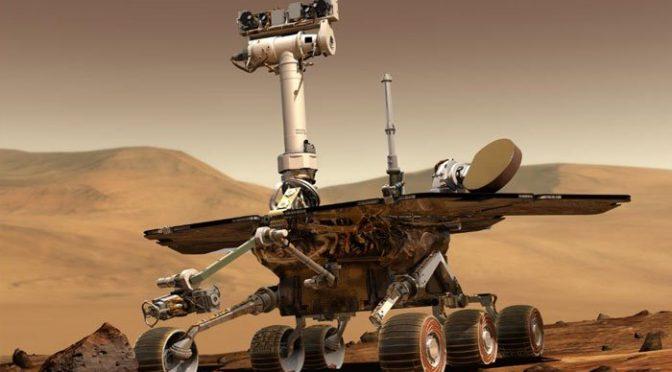 ناسا کا مریخ پر 'اپرچونٹی' سے آخری رابطہ