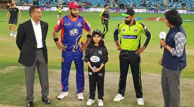 کراچی کنگز کا لاہور قلندرز کیخلاف ٹاس جیت کر فیلڈنگ کا فیصلہ
