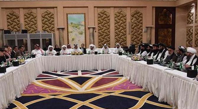 قطر میں شادی نہیں مذاکرات ہو رہے ہیں، طالبان کا کابل حکومت کی 250 رکنی ٹیم پر ردعمل