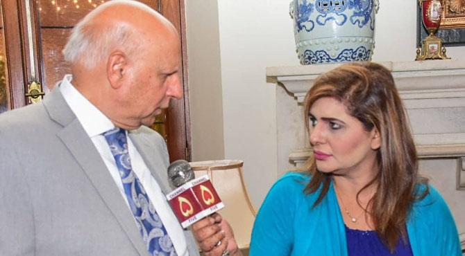 میں نے امریکہ اور برطانیہ کے دورے بطور پاکستانی سفارتکار کئے،گورنر پنجاب چوہدری سرورکی چینل۵سے خصوصی گفتگو