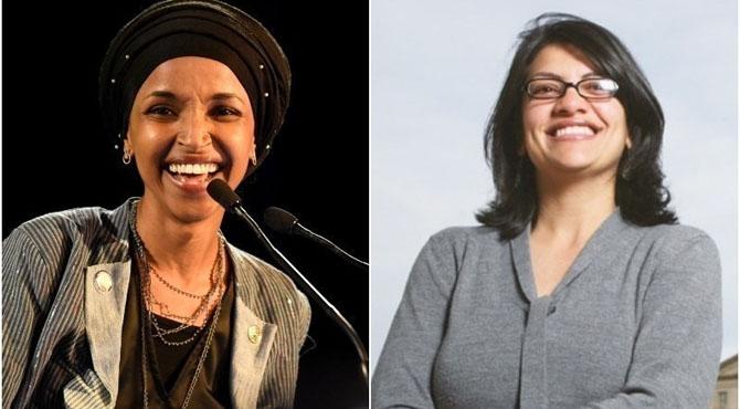 مسلمان کانگریس خواتین کیخلاف ٹرمپ کے بیان پر اراکین پارلیمنٹ کی مذمت