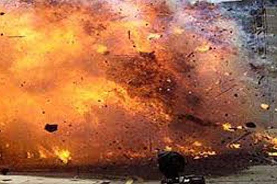 بڑے شہر میں ریمورٹ کنٹرو ل دھماکہ
