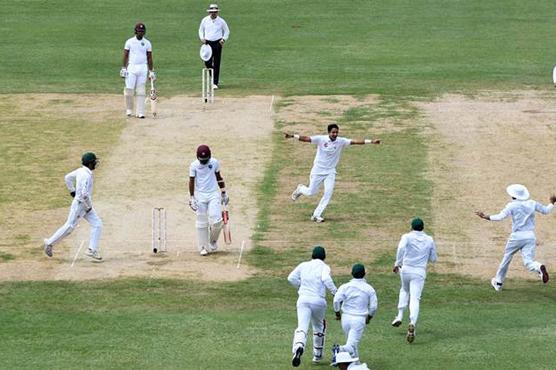 پاکستان اور ویسٹ انڈیز کا دوسرا ٹیسٹ آج شروع ہو گا
