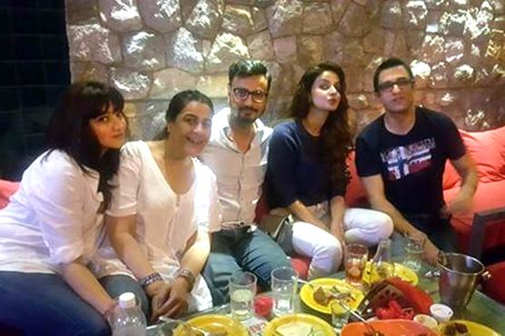 """صباقمر فلم""""ہندی میڈیم""""کی پرموشن کیلئے ممبئی پہنچ گئیں"""