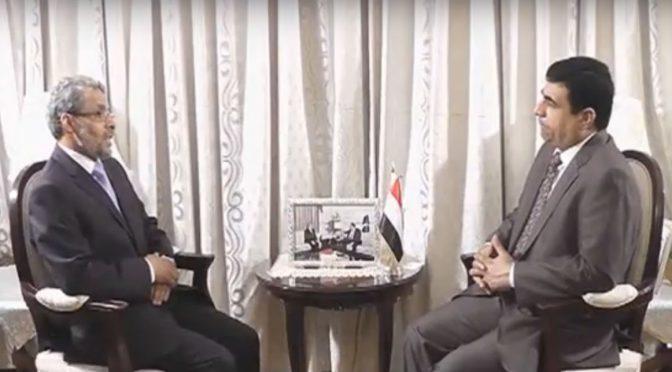 چینل ۵ کے پروگرام ڈپلو میٹک انکلو میں یمن کے مقرر نئے سفیرمحمد متھر علی شابی کی خصوصی گفتگو