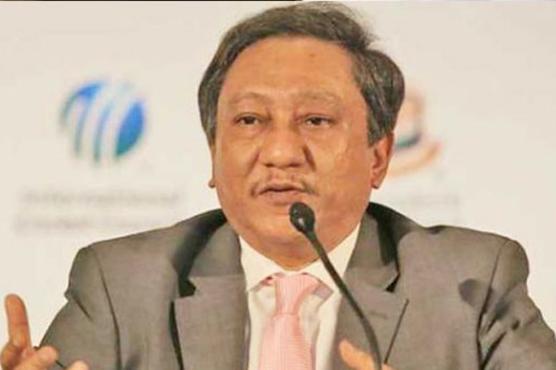 پاکستانی ٹیم بنگلہ دیش کا سامنا کرنے سے خوفزدہ ہے، صدر بی سی بی کی مضحکہ خیر سوچ
