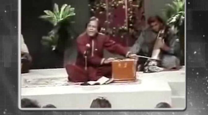 جنید جمشید کی آواز میں جادو تھا،دیکھیں پروگرام پرانے گیت پرانی غزلیں