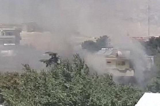 کابل میں عراقی سفارتخانے پر کار بم دھماکہ