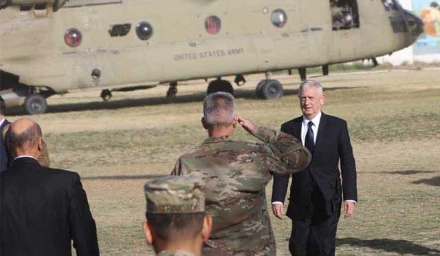 امریکی وزیر دفاع کے کابل پہنچتے ہی ائرپورٹ پر حملہ