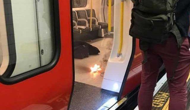 لندن میں زیرزمین ٹرین میں دھماکے سے متعدد افراد زخمی