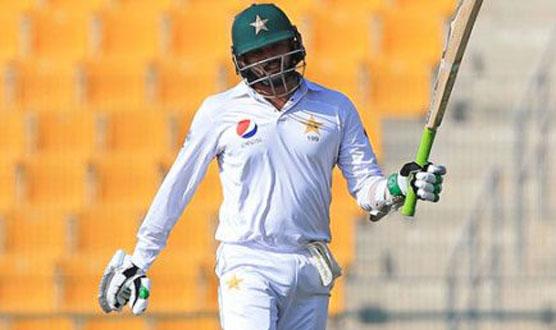 پاکستان نے تیسرے دن کے اختتام پر 266رنز بنا لیے