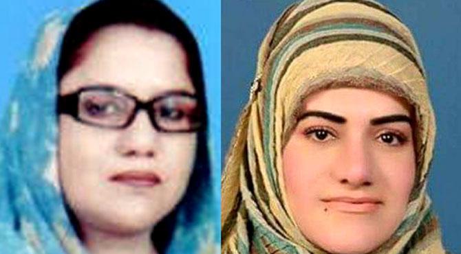 تحریک انصاف کی نبیلہ بٹ ،ن لیگ کی سلطانہ شاہین اشتہاری