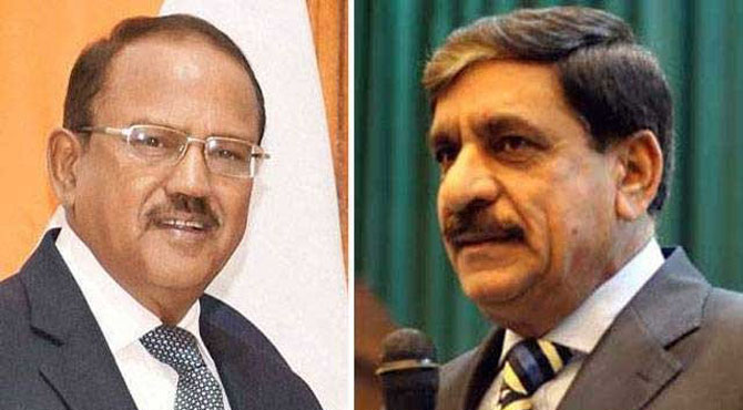 پاکستان بھارت قومی سلامتی مشیروں کی بنکاک میں ملاقات