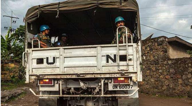 کانگو: اقوام متحدہ کے امن دستے پر حملہ، 20 افراد ہلاک