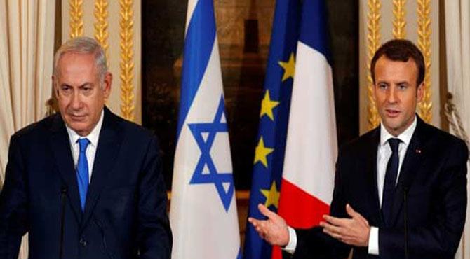 ٹرمپ کا فیصلہ مسترد، صدر میکرون کا اسرائیلی وزیر اعظم کو دو ٹوک جواب