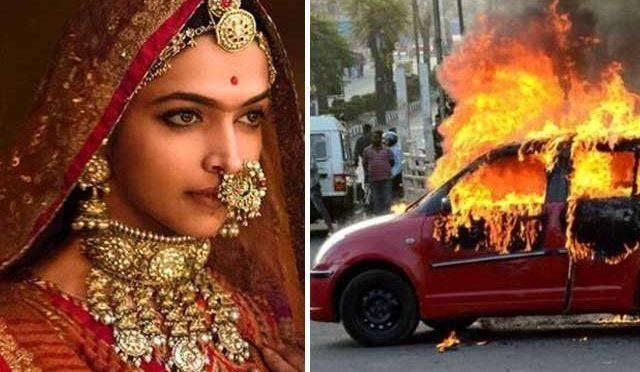 پدما وت ریلیزہو تے ہی بھارت میں ہنگامے پھوٹ پڑے،قیمتی املاک ،گاڑیاں نذر آتش،صو رتحال انتہائی کشیدہ
