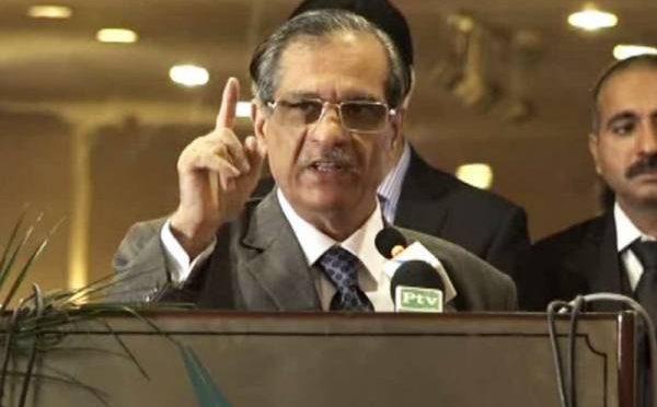 کسی بدمعاش کو پاکستان میں نہیں رہنے دوں گا، چیف جسٹس