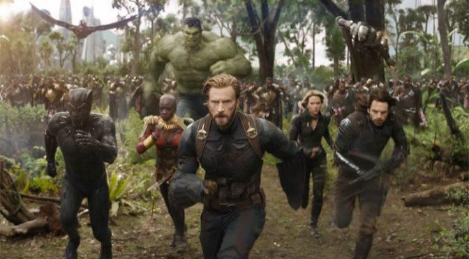 سپر ہیروز پر مبنی نئی فلم 'اوینجرز انفینٹی وار' نے باکس آفس پر ریکارڈ توڑ ڈالے