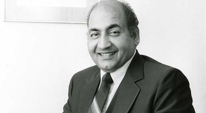 سروں کے بادشاہ محمد رفیع کو بچھڑے 38 سال ہوگئے