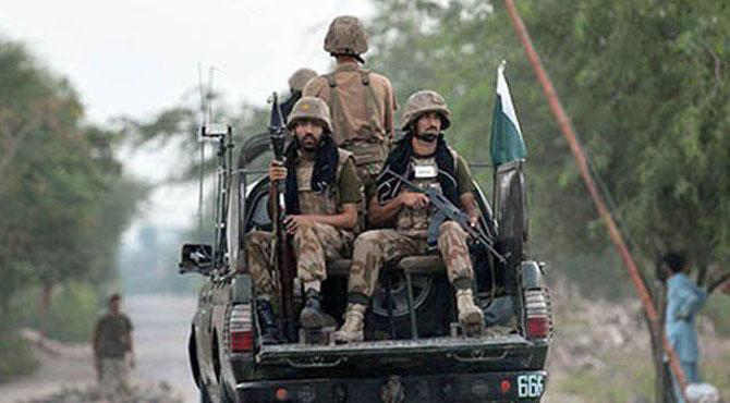 بلوچستان میں فورسز کی گاڑی کو حادثہ ، 4 اہلکار شہید