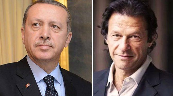 ترکی کے صدر کا عمران خان کو ٹیلی فون ،عام انتخابات میں کامیابی پر مبارکباد