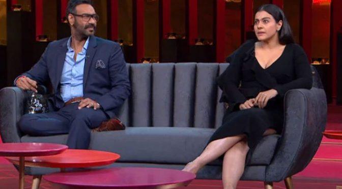 شوہر اجے دیوگن کے بوڑھا کہنے پر کاجول کا دلچسپ جواب
