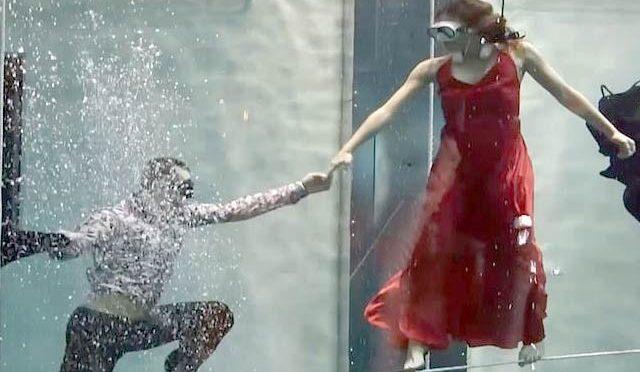 پانی کےاندرآکسیجن کے بغیر رقص کرنے کا نیا ریکارڈ قائم