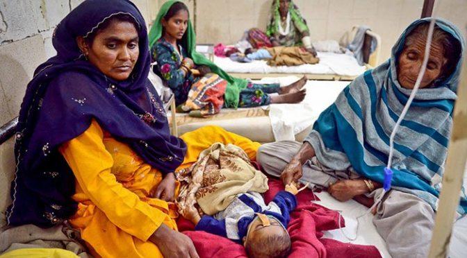تھرپارکر میں غذائی قلت کے باعث مزید تین بچے انتقال کر گئے