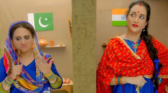 """""""ہمسائے ماں جائے"""" بشریٰ انصاری کی پاک بھارت امن قائم کرنے کیلئے منفرد کوشش"""