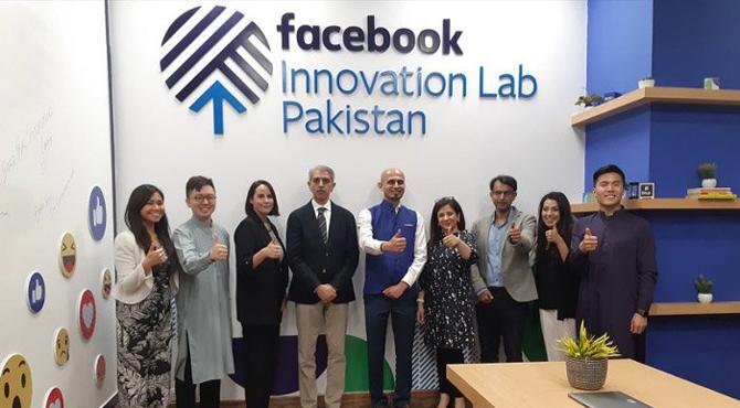 پاکستان میں ٹیکنالوجی کا فروغ، فیس بک نے انویشن لیب کا افتتاح کر دیا