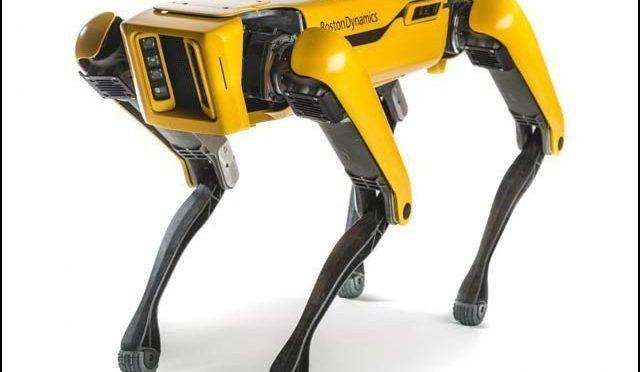 روبوٹ کتوں کا بڑے ٹرک کو کھینچنے کا عملی مظاہرہ