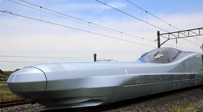 جاپان کی بلٹ ٹرین نے رفتار کا ریکارڈ توڑ دیا