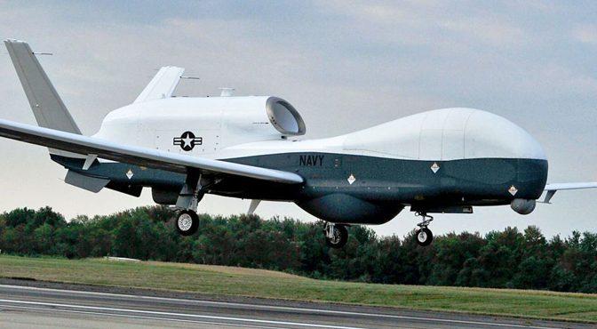ایران نے آبنائے ہرمز کے قریب امریکی ڈرون مارگرایا، واشنگٹن پوسٹ