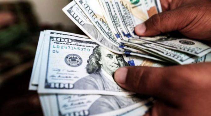 ڈالر کی قدر میں اضافہ، اوپن مارکیٹ میں 160.50 روپے کا ہوگیا