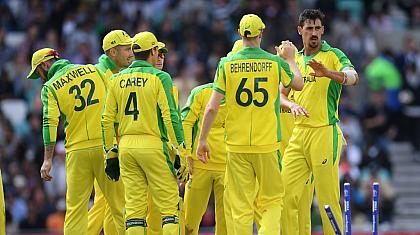 ورلڈکپ ،آسٹریلیا نے سری لنکا کو شکست دیدی