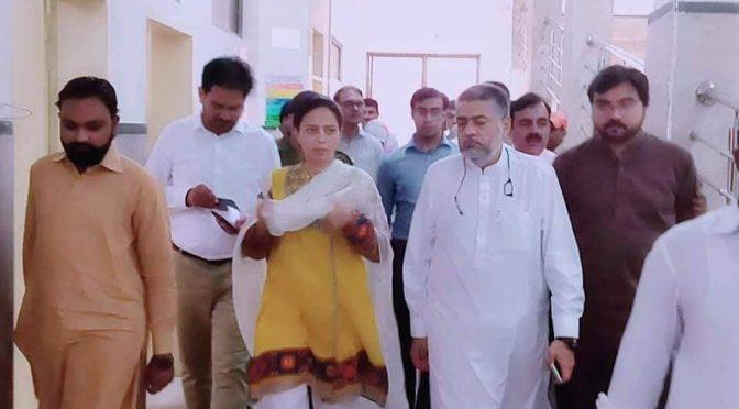 ہر خبر سے باخبر،تحصیل ہسپتال کا اچانک دورہ ،صوبائی وزیر اطلاعات صمصمام بخاری