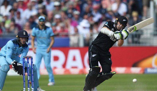 ورلڈکپ فائنل؛ نیوزی لینڈ کی انگلینڈ کے خلاف بیٹنگ
