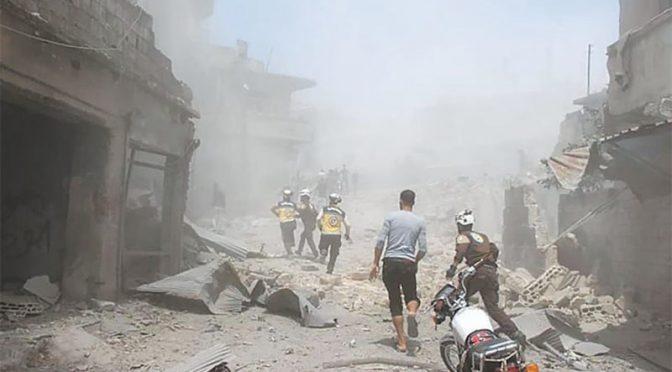 شام میں تازہ جھڑپوں میں 100 سے زائد افراد ہلاک