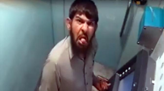 اے ٹی ایم سے کارڈ چوری کے دوران کیمروں کو زبان چڑھانے والا ملزم گرفتار