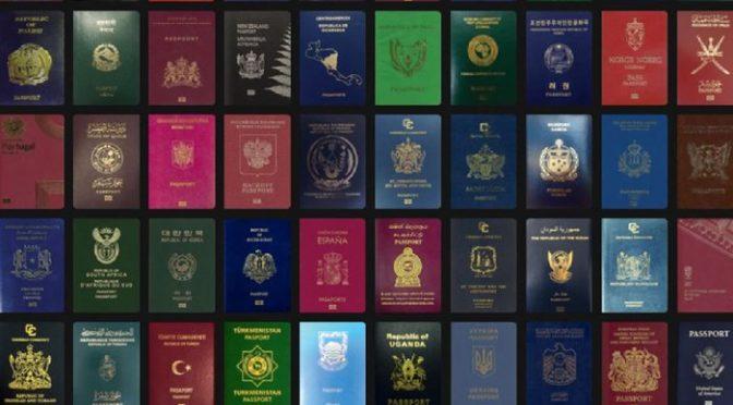 دنیا کے طاقتور ترین پاسپورٹ کی فہرست میں  سنگاپور،جاپان اول،بھارت 82 ویں پا کستا ن ، صومالیہ ایک ساتھ 104 ویں نمبر پر