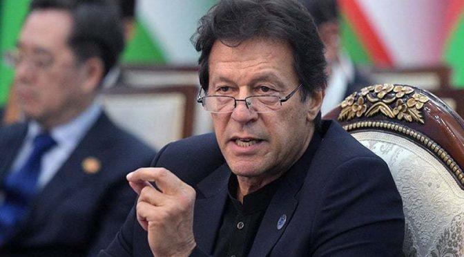 دنیا نے بھارت کا مکروہ چہرہ دیکھ لیا کشمیریوں کے ساتھ چٹان کی طرح کھڑے ہیں،عمران خان