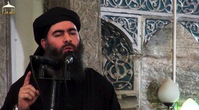 ایک مرتبہ پھر داعش کے سربراہ ابوبکر البغدادی کی ہلاکت کا دعویٰ
