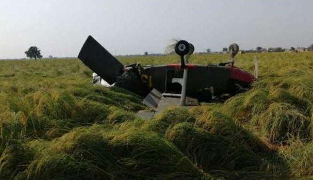 وزیر آباد میں مشاق طیارے کی کریش لینڈنگ، دونوں پائلٹس محفوظ رہے