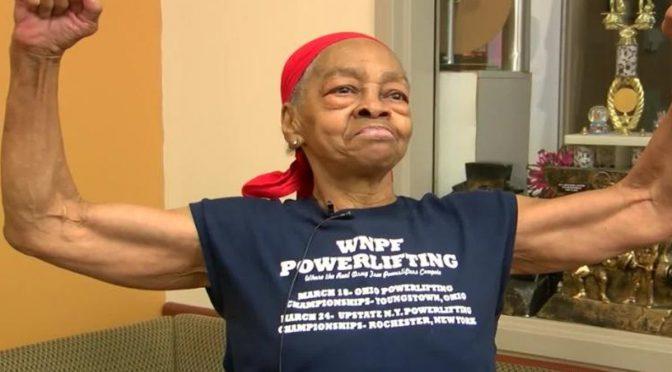 82 سالہ معمر بلڈر خاتون نے گھر میں گھسنے والے آدمی کی دُرگت بنادی