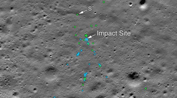 چاند کی سطح پر تباہ ہو نے والے بھارتی خلائی مشن کے ٹکڑے مل گئے، فواد چوہدری کی تنقید