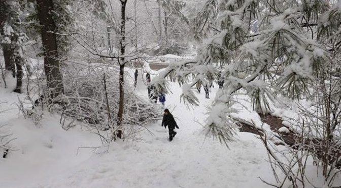 ملک کے شمالی علاقوں میں شدید سردی، اسکردو میں درجہ حرارت منفی 18 تک گر گیا