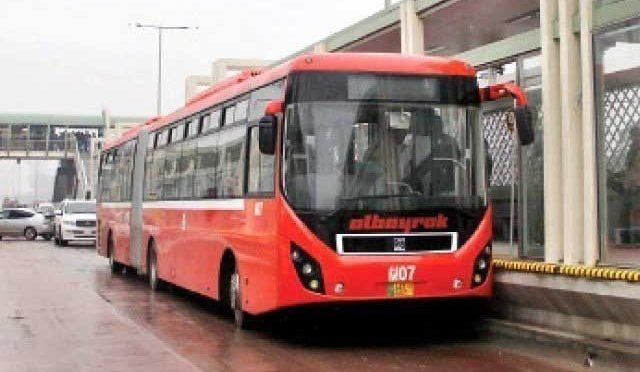 پنجاب حکومت نے میٹرو بس کا کرایہ بڑھا کر 40 روپے کردیا
