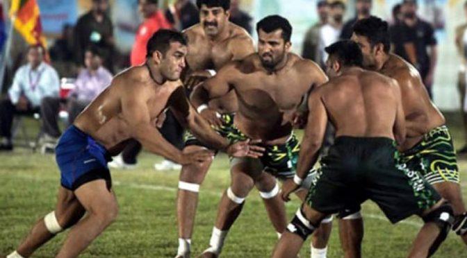 قومی کبڈی ٹیم کے اعزاز میں تقریب 16مارچ کو مینار پاکستان گرائونڈ میں ہو گی