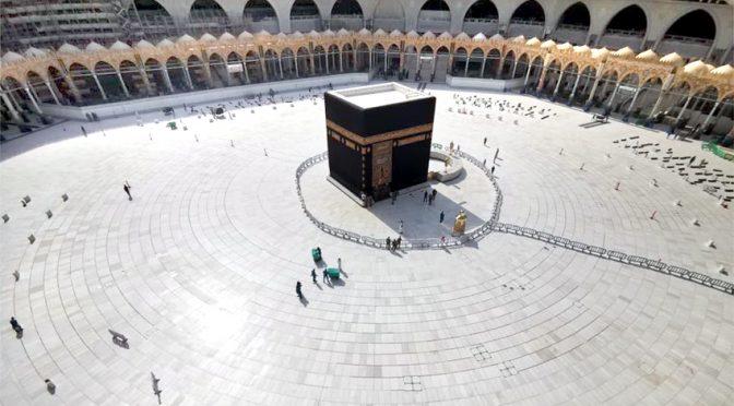 کرونا وائرس کی وباءخانہ کعبہ پہلی بار طواف کے لیے بند،مسجد نبوی میں بھی داخلے کے لیے عارضی طور پر پابندی