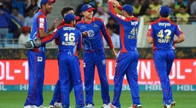 کراچی کنگز نے لاہور قلندرز کو 10 وکٹ سے شکست دے دی